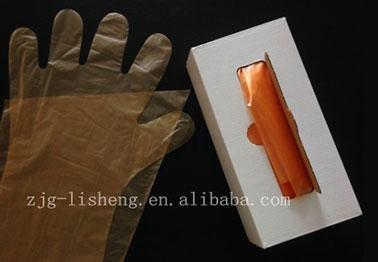 购买一次性PE长手套